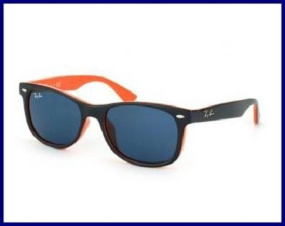 New Wayfarer blue orange gradient sunglass