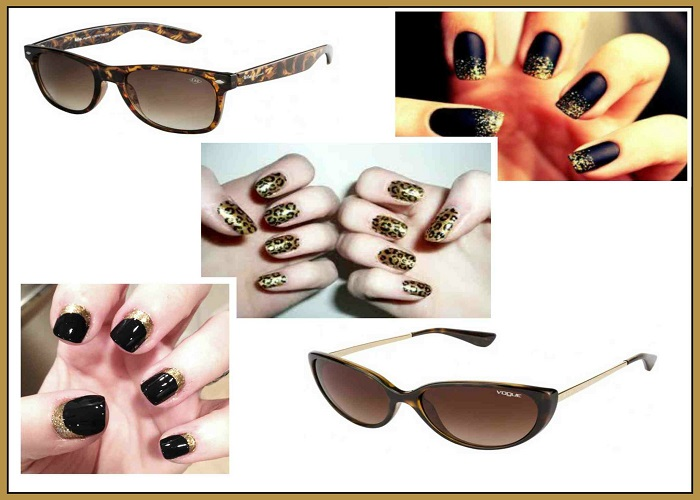 Match your nails with your eyewear