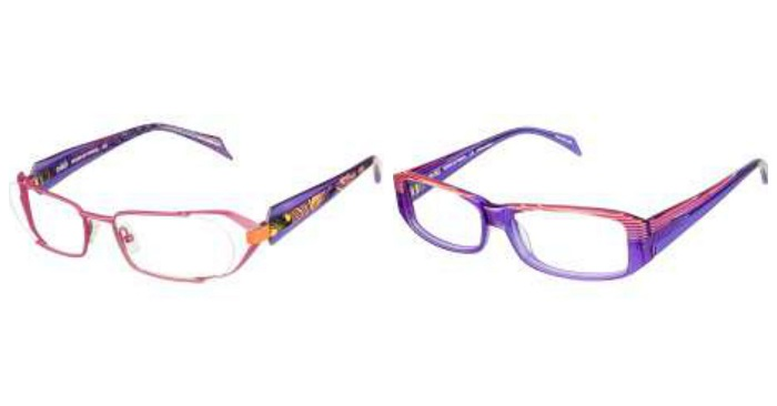 colored eyeglasses