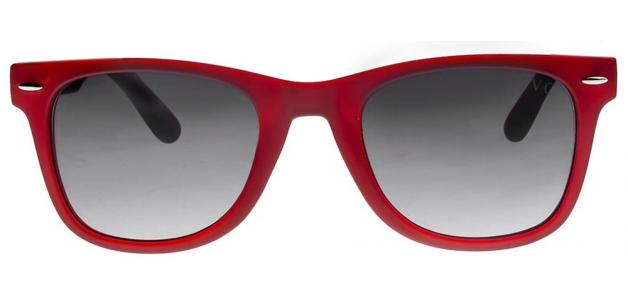 Red eyeglasses frames