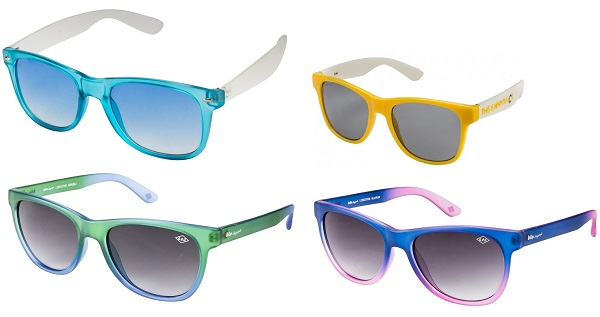 Coloured Wayfarer Sunglasses @lenskart