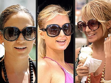 Over sized sunglasses for ladies