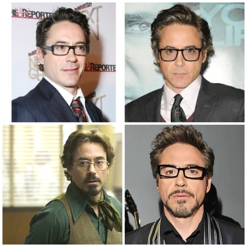 Robert Downey Jr and his spectacles