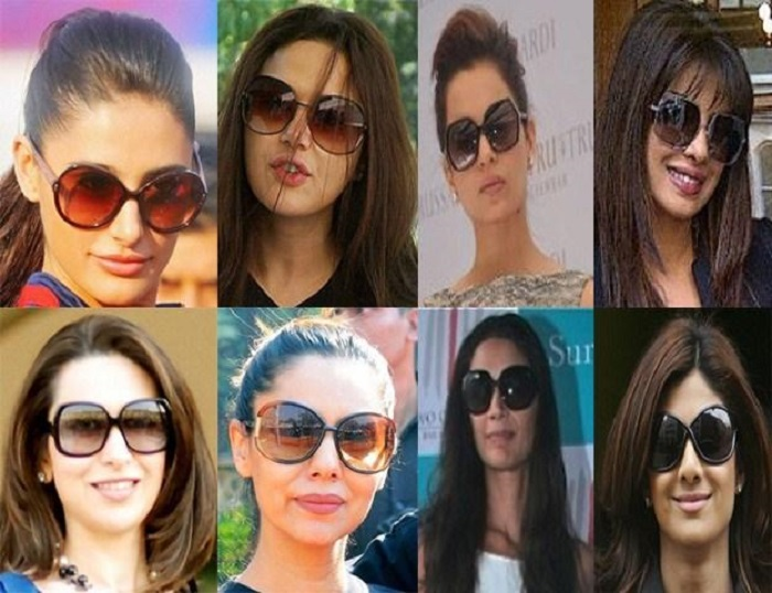 celebrity oversized sunglasses for women