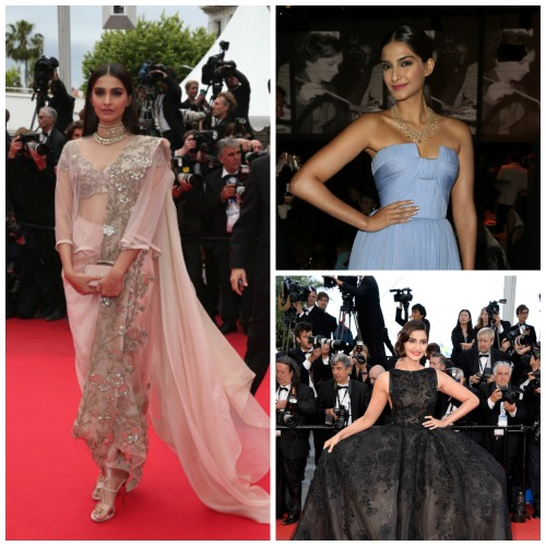 Sonam Kapoor Red carpet
