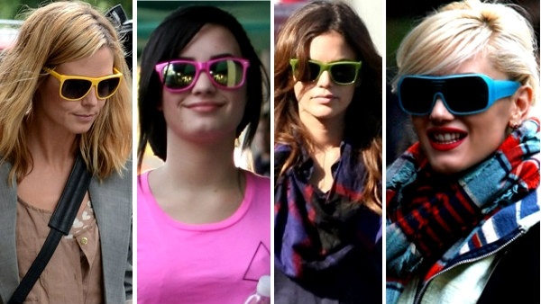 Celebrity Colorful Sunglasses