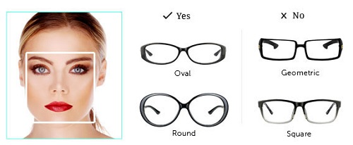Women s Eyeglass Frames For Square Faces : Lenskart Blog An eyewear blog talking all about fashion ...