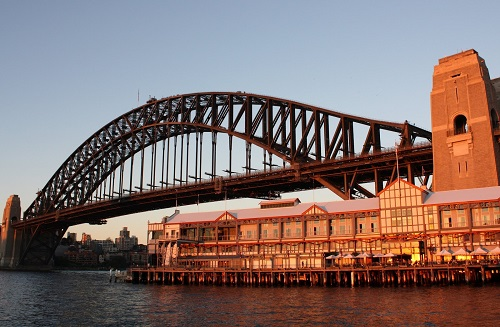 Sydney Harbour Brige Pier One