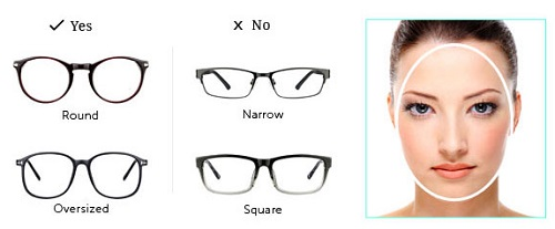 Eyeglass Frame Shapes For Oval Faces : Frames that fit your face shapes - Lenskart Blog