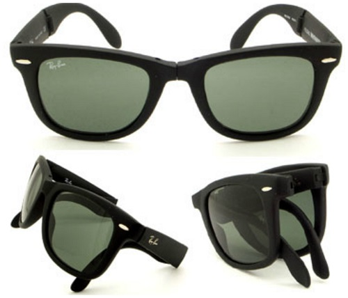 portable pair of sunglasses