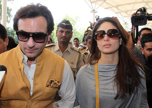 Saif Ali and Kareena Kapoor Khan