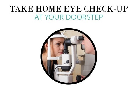 home eye check up