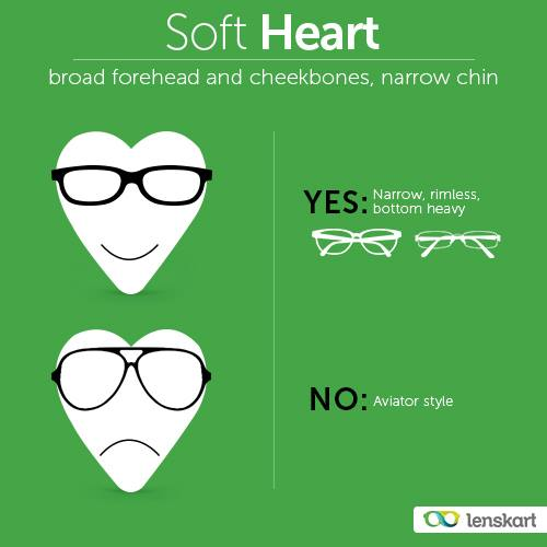 Cute Glasses Frames For Heart Shaped Faces : Match your fashion with your features - Lenskart Blog