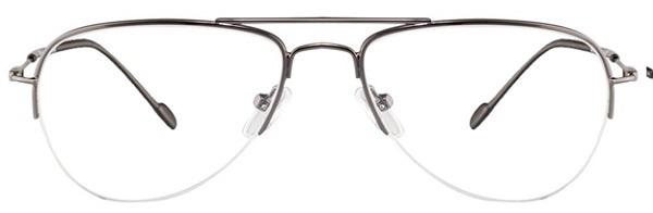 Retain 34213 Gunmetal XYXY Aviator Eyeglasses