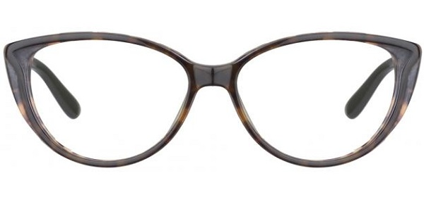 Cat-eye eyeglasses frame