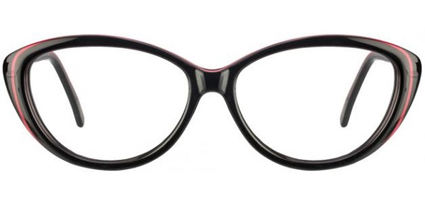 Cat-eye frame