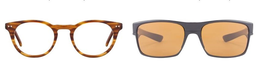 John Jacobs round eyeglasses or Oakley's tinted sunglasses